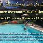 Vacanza Sotto le Stelle in Umbria