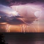 Meteo: Tempeste di Fulmini con Antimateria