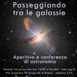Passeggiando tra le galassie: aperitivo astronomico