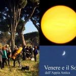 Il Sole e Venere dall'Appia Antica