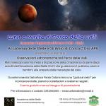Luna e Marte al Parco delle Valli
