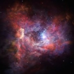 Lontana, luminosa polvere di stelle