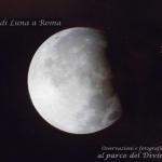 L'eclissi parziale a Roma