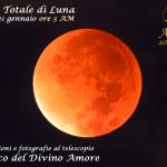 La Superluna a Roma con eclissi totale di Luna