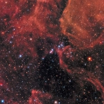 Esplosione Cosmica dal Passato
