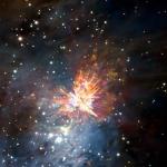 Esplosioni Pirotecniche nella Nebulosa di Orione