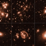 Hubble cattura straordinarie, antiche galassie
