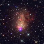 Una Galassia Starbust che Promette Onde Gravitazionali