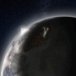 Un'Atmosfera per l'Antica Luna
