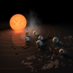 TRAPPIST-1, troppo attiva per ospitare la vita?