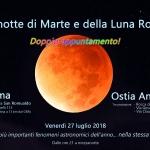 A Roma e Ostia l'eclissi di Luna e la Grande Opposizione di Marte (Con resoconto)