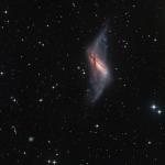 NGC 660: una galassia ad anello polare