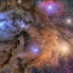 Le Nubi Colorate di Rho Ophiuchi