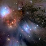 NGC 2170: Un Dipinto nel Cosmo