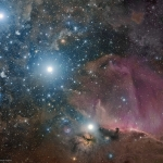 La Cintura di Orione, la Fiamma e la Testa di Cavallo