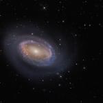 NGC 4725 : Una Spirale con un Braccio
