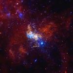 Piccole Stelle Neonate accanto a Sagittarius A*