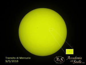 transito di Mercurio Accademia delle Stelle