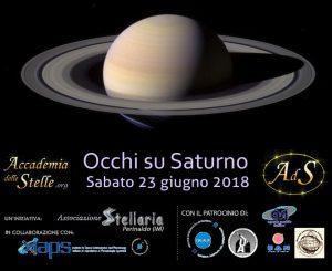 Occhi su Saturno a Roma