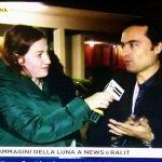 Paola Cutini intervista Paolo Colona durante l'evento del 14 novembre
