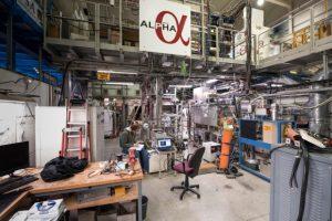 Esperimento ALPHA - Credits CERN 2016