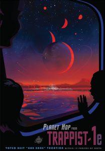 """""""Trappist-1e, eletto miglior luogo di vacanze entro 12 parsec dalla Terra"""" fonte NASA"""