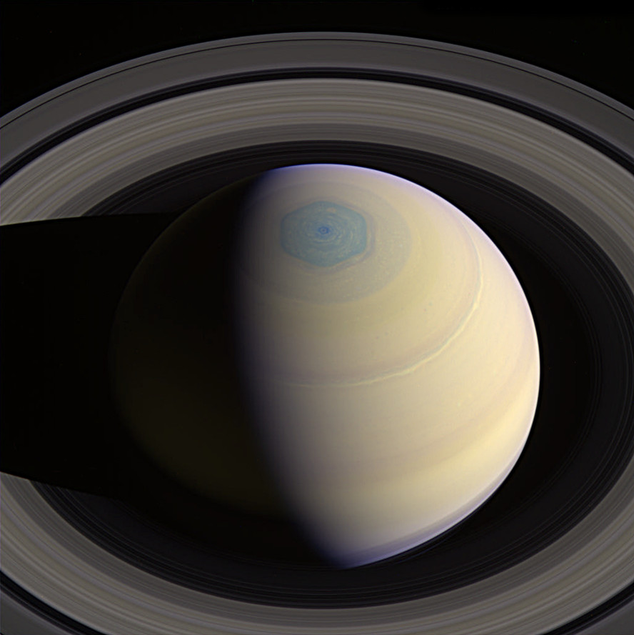 Saturn Hexagon