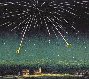 Pioggia di stelle cadenti 1872