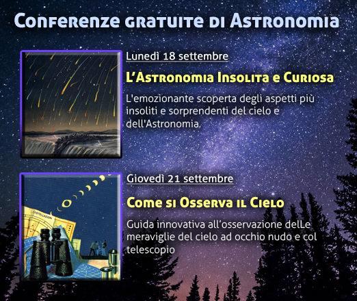 Conferenze di Astronomia