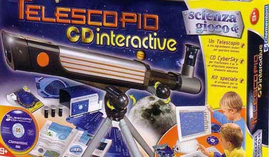 Telescopio-giocattolo