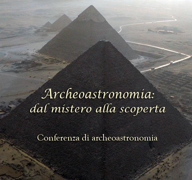 Conferenza Archeoastronomia