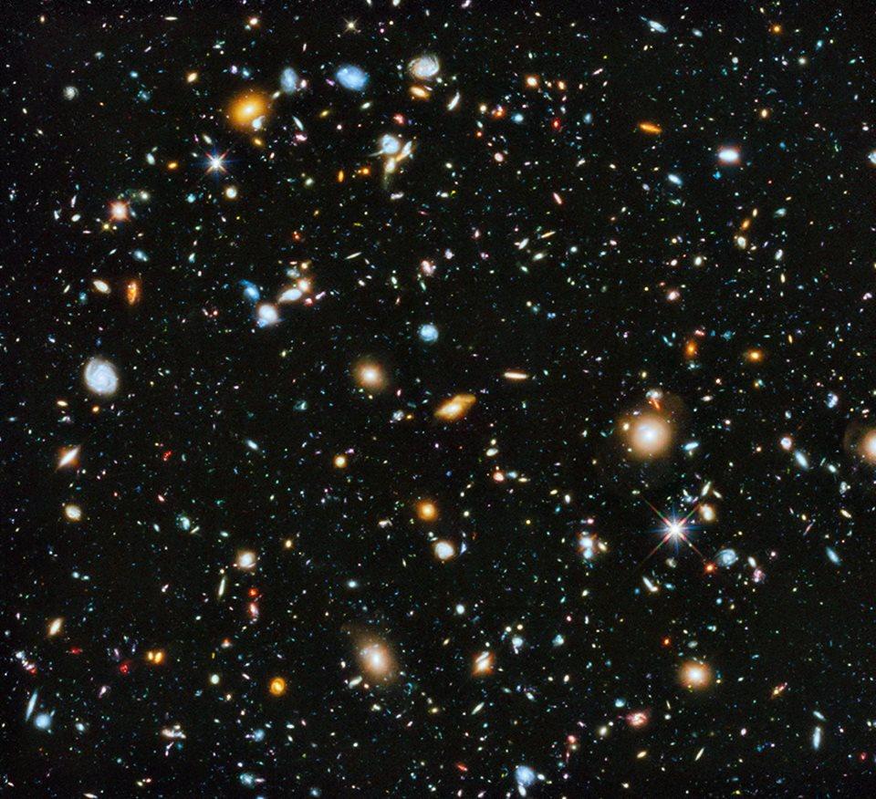 Hubble HUDF