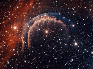 La Nebulosa Planetaria HDW 3 ripresa dal telescopio Mayall di 4 metri a Kitt Peak.