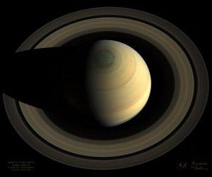 Saturno-esagono-anelli-Cassini